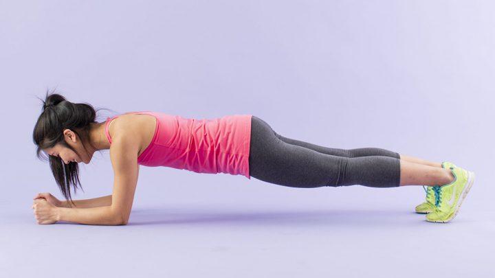 Bài tập giảm mỡ bụng giúp bạn có được cơ bụng 6 muối