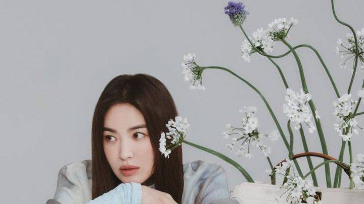 Song Hye Kyo nhan sắc không tuổi ở bộ sưu tập thời trang của thương hiệu Fendi