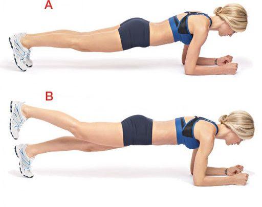 Các bài tập plank giảm mỡ bụng toàn đem lại vóc dáng săn chắc